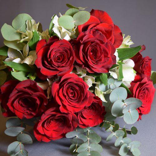 Cvjećarnica Fani_Buketi_Dodir ruže srednji