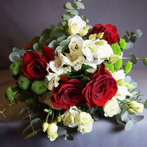 Cvjećarnica Fani_Buketi_Mojoj ljubavi srednji