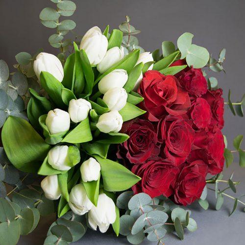 Cvjećarnica Fani_Buketi_Poruka ljubavi srednji