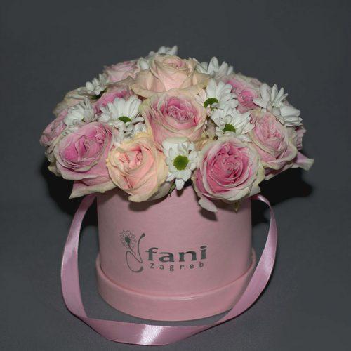 Cvjećarnica-Fani_Flowerbox_Ruže-i-margarete-u-kutiji_