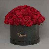 Cvjećarnica Fani_Flowerbox_101 Crvena ruža u kutiji